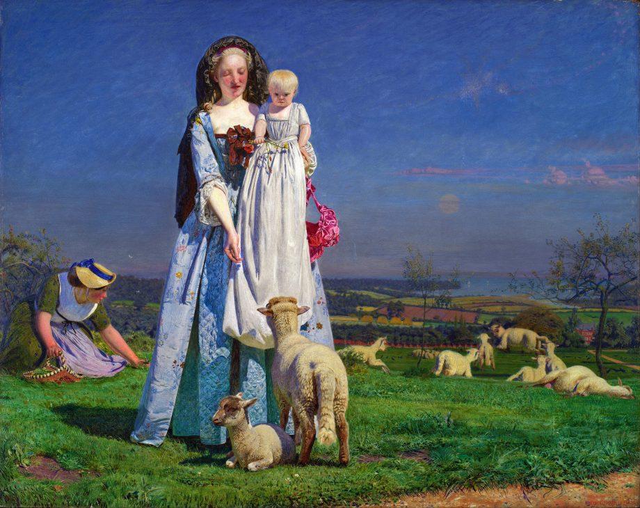 Ford Madox Brown - Pretty Baa-Lambs