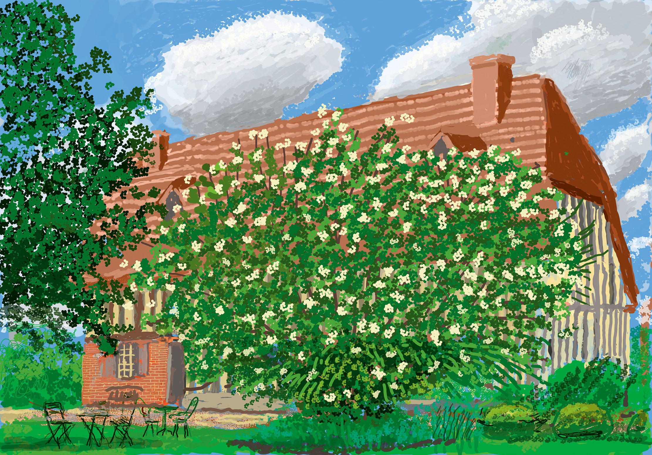 In Focus: How David Hockney chronicled the first spring of Covid-19 with iPad art - Country Life