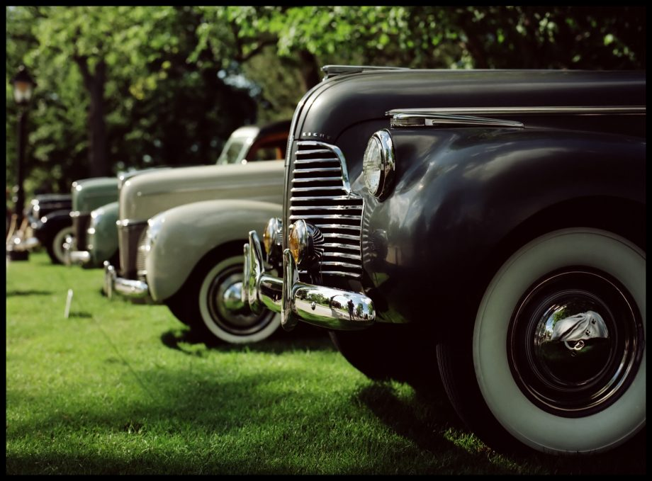 Whitewalls and Chrome cars