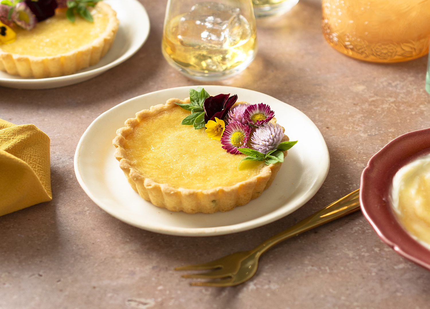 How to make lemon and mascarpone tart with a naughty touch of Drambuie - Country Life