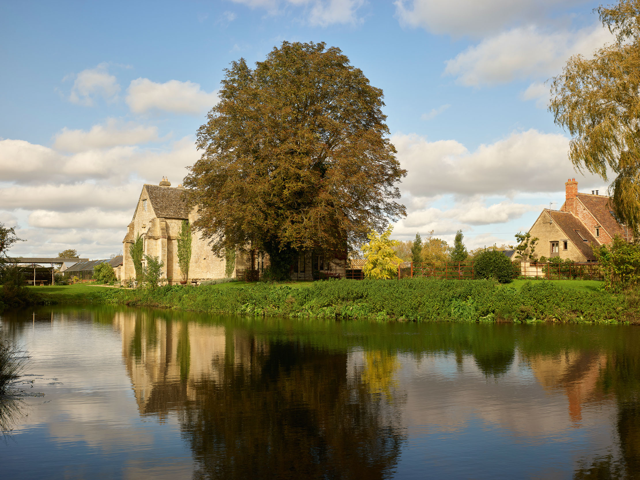 How Bampton Castle became Ham Court: The manor house-turned-castle, and its return to life as an Oxfordshire house - Country Life