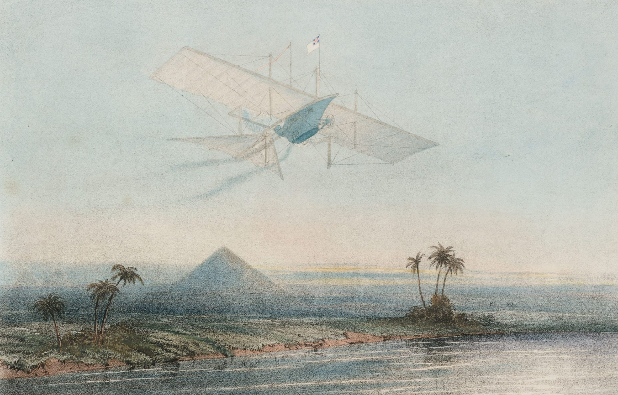 Curious Questions: Did an Englishman called John Stringfellow really invent powered flight half a century before the Wright Brothers? - Country Life