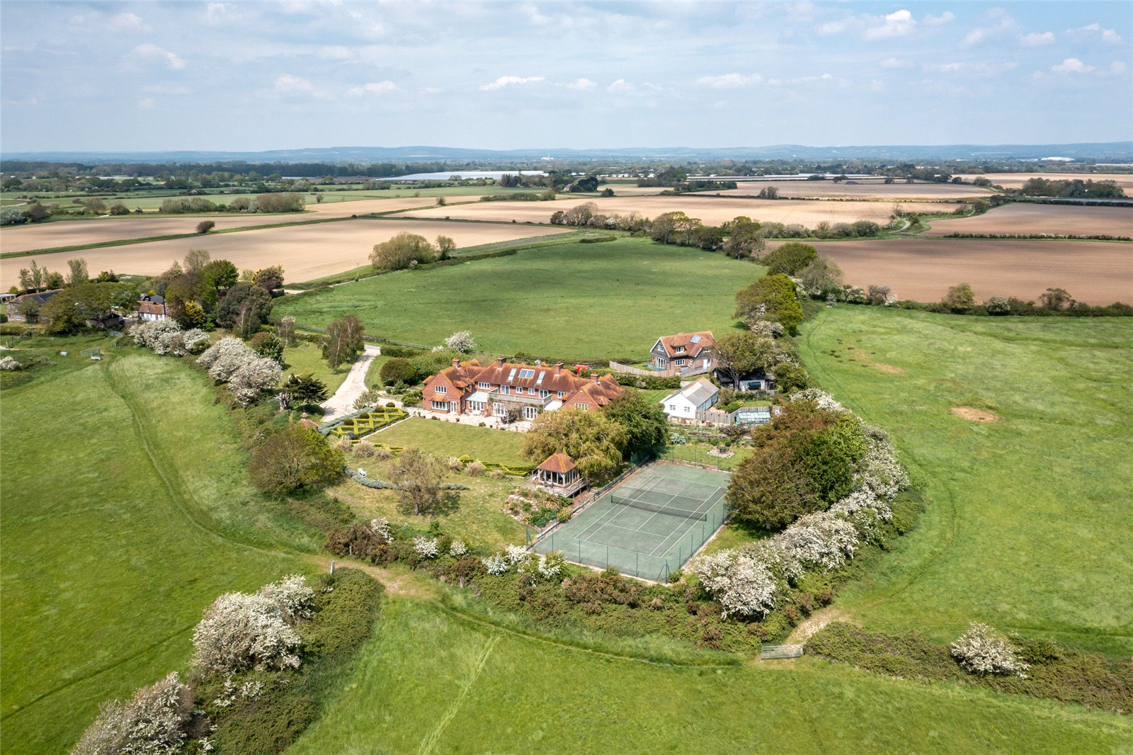 A grand country house with unparalleled nature views near Chichester - Country Life