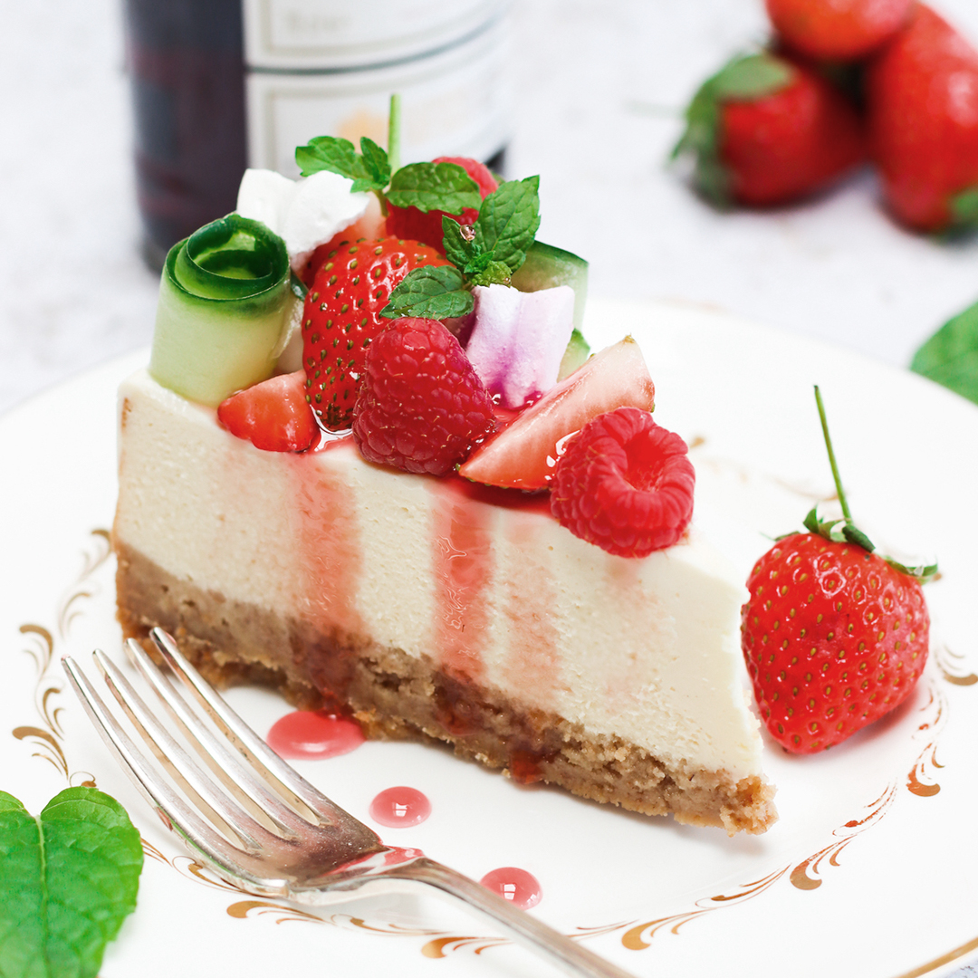 How to make strawberry cheesecake with a Pimm's glaze, just in time for Wimbledon - Country Life