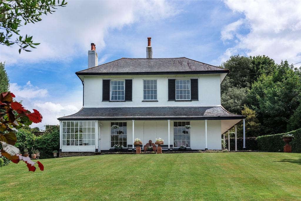 Built for an Admiral in 1820, this property, dubbed 'the largest in Kingsbridge' has since been occupied by a number of high-ranking members of the armed forces - Country Life