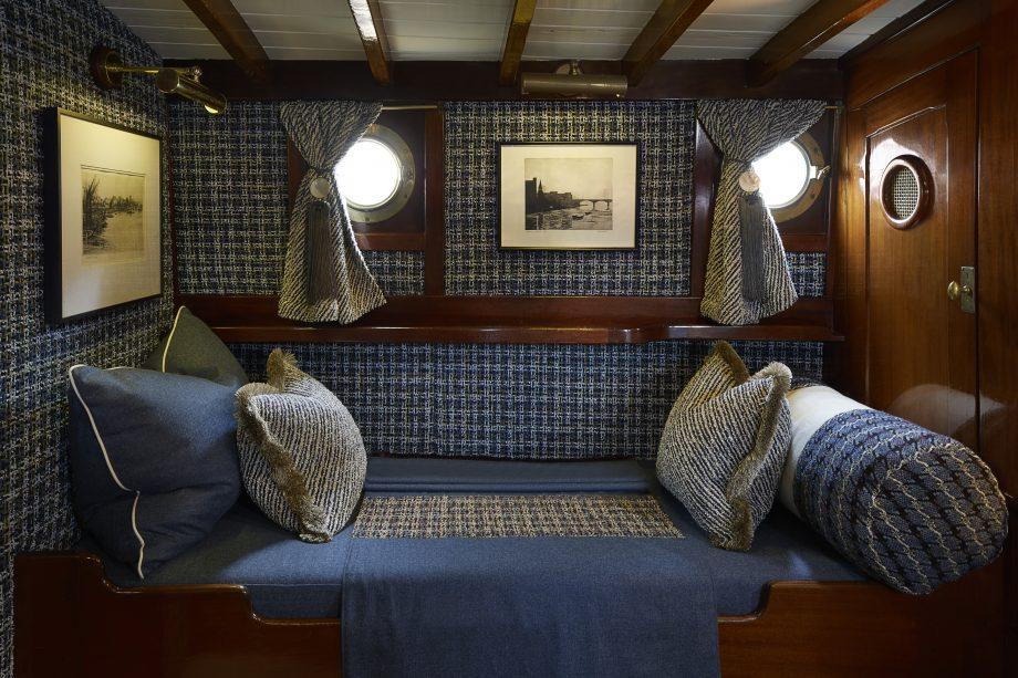 Bluebird motor yacht interiors