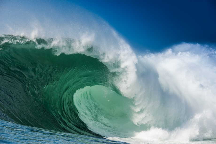 Perfect Extreme Massive big waves of the North Atlantic Ocean