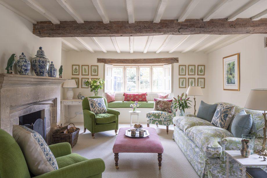 Susan Deliss-designed drawing room