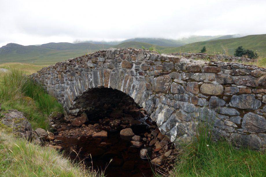 Melgrave Bridge on the Corrieyairack Pass