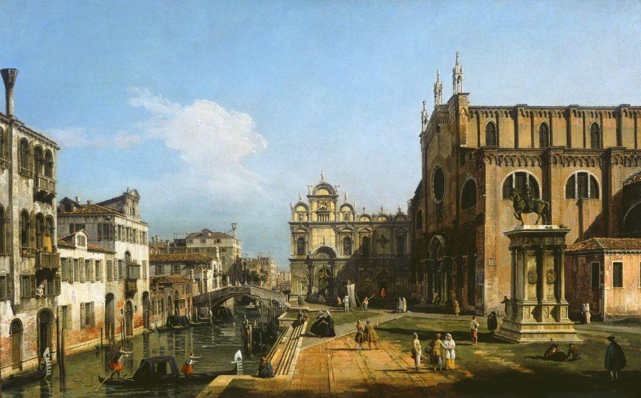 The Campo di SS. Giovanni e Paolo, Venice; 1743/1747 Bernardo Bellotto, The Campo di SS Giovanni e Paolo, Venice, 1743-1747