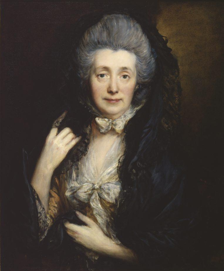 Portrait of Mrs Margaret Gainsborough, c.1778 (oil on canvas)