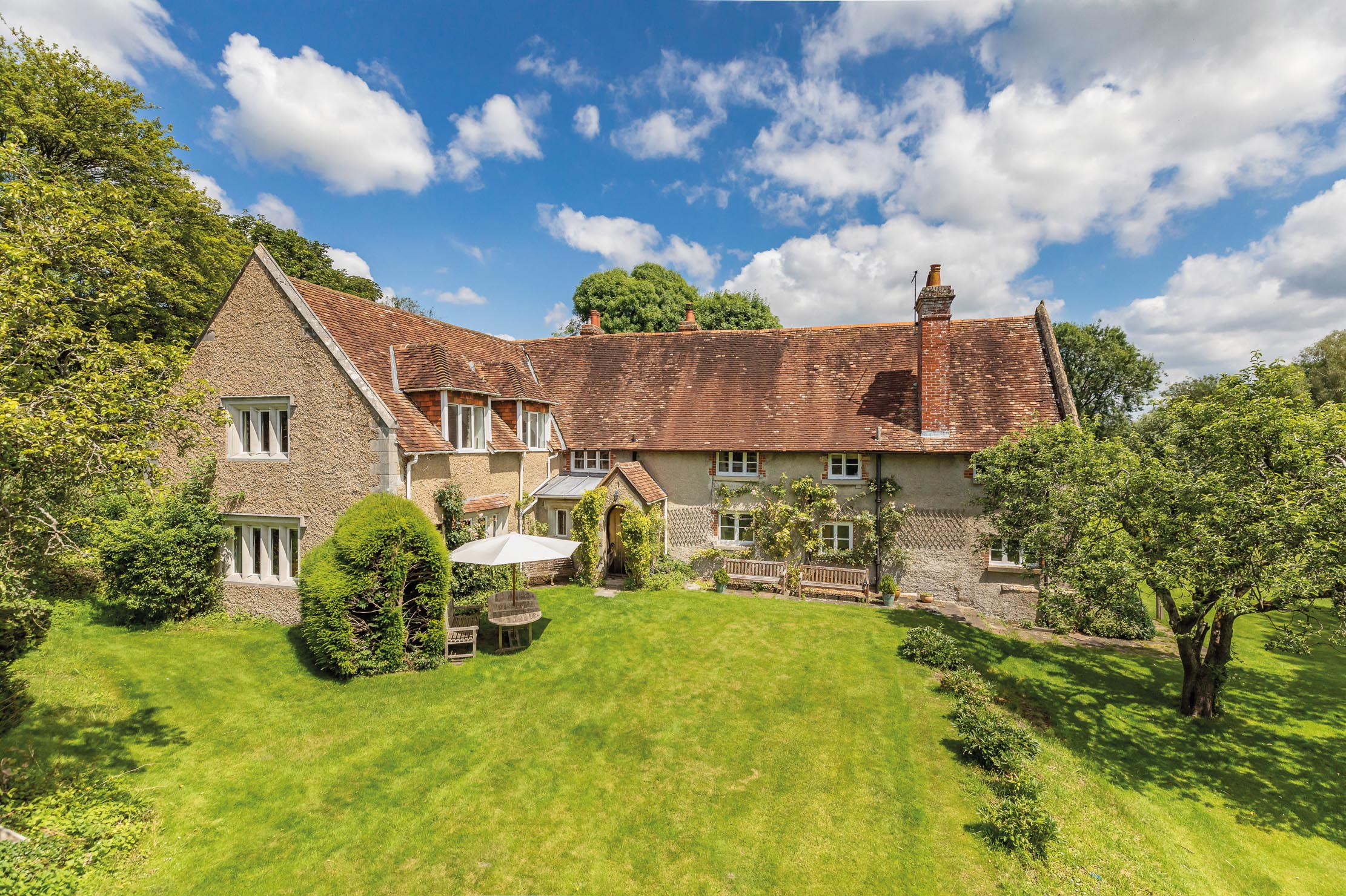 A gorgeous, 16th century property for sale in Hampshire up for sale for the first time in 65 years - Country Life