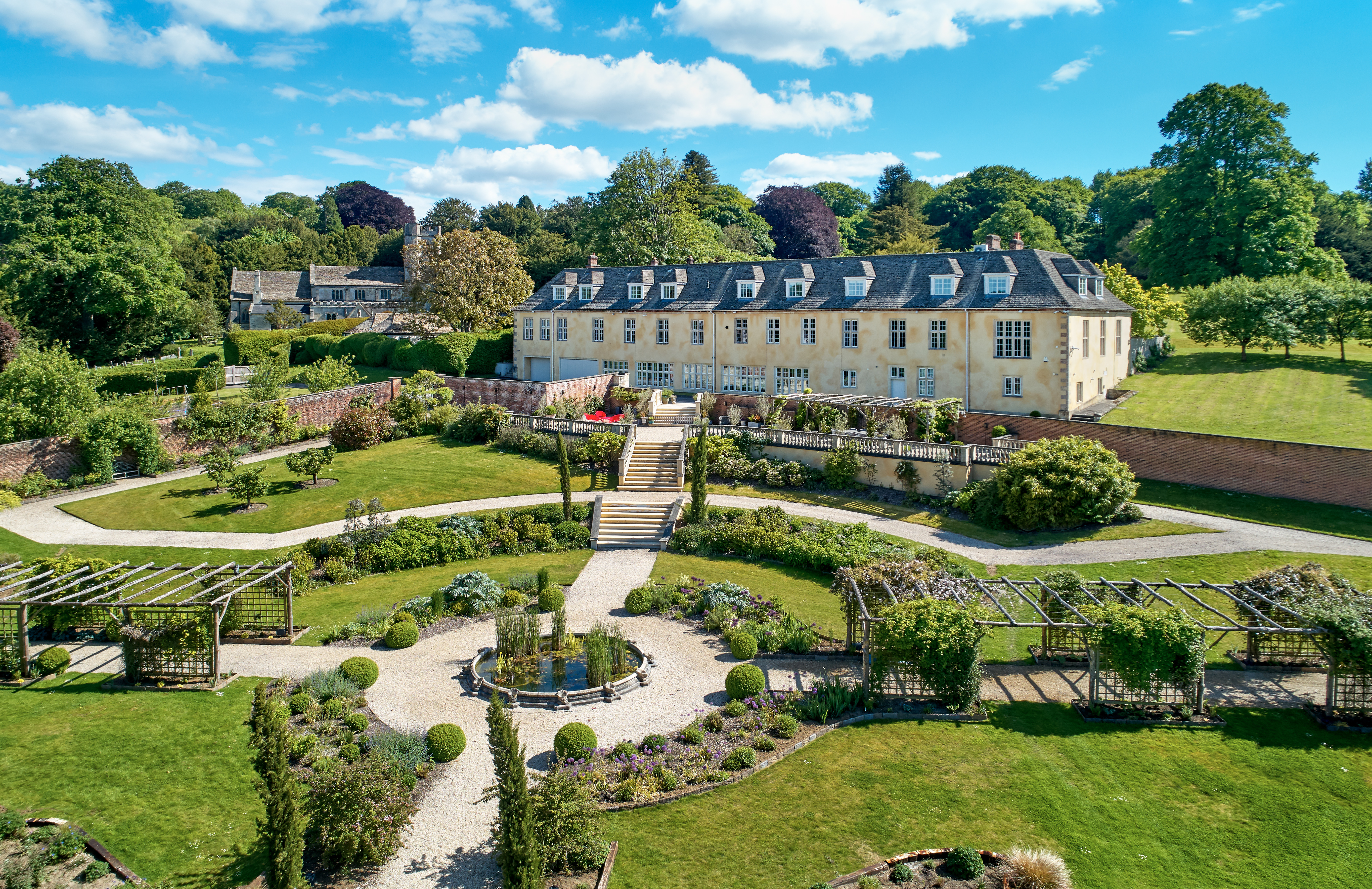 Robbie Williams's family home in Wiltshire is up for sale for £6.75 million — and it definitely won't disappoint - Country Life
