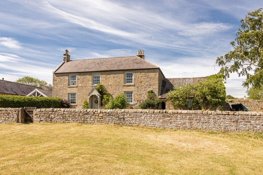 Fenwick Towers Farmhouse, Fenwick, Matfen, Northumberland - Exterior