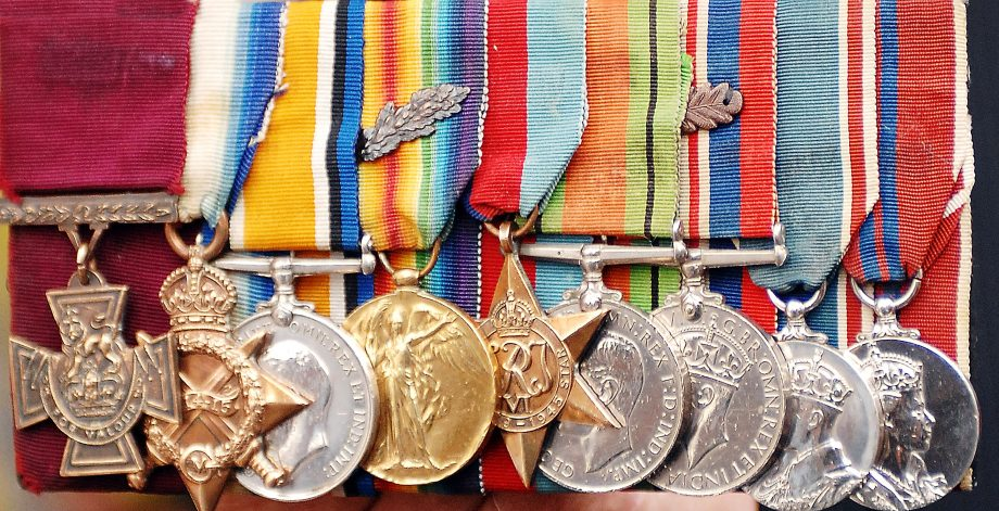 Victoria Cross and other medals
