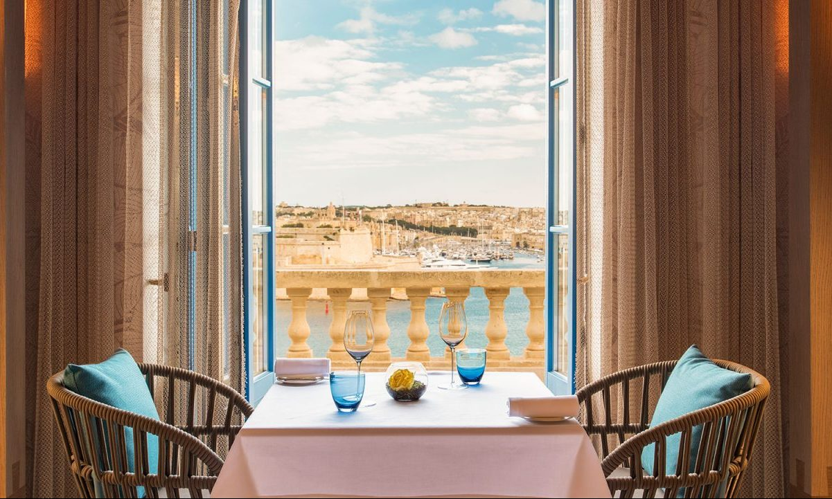 A glorious getaway in Malta, with magnificent rooms, Michelin-star dining and breathtaking views of Valletta - Country Life