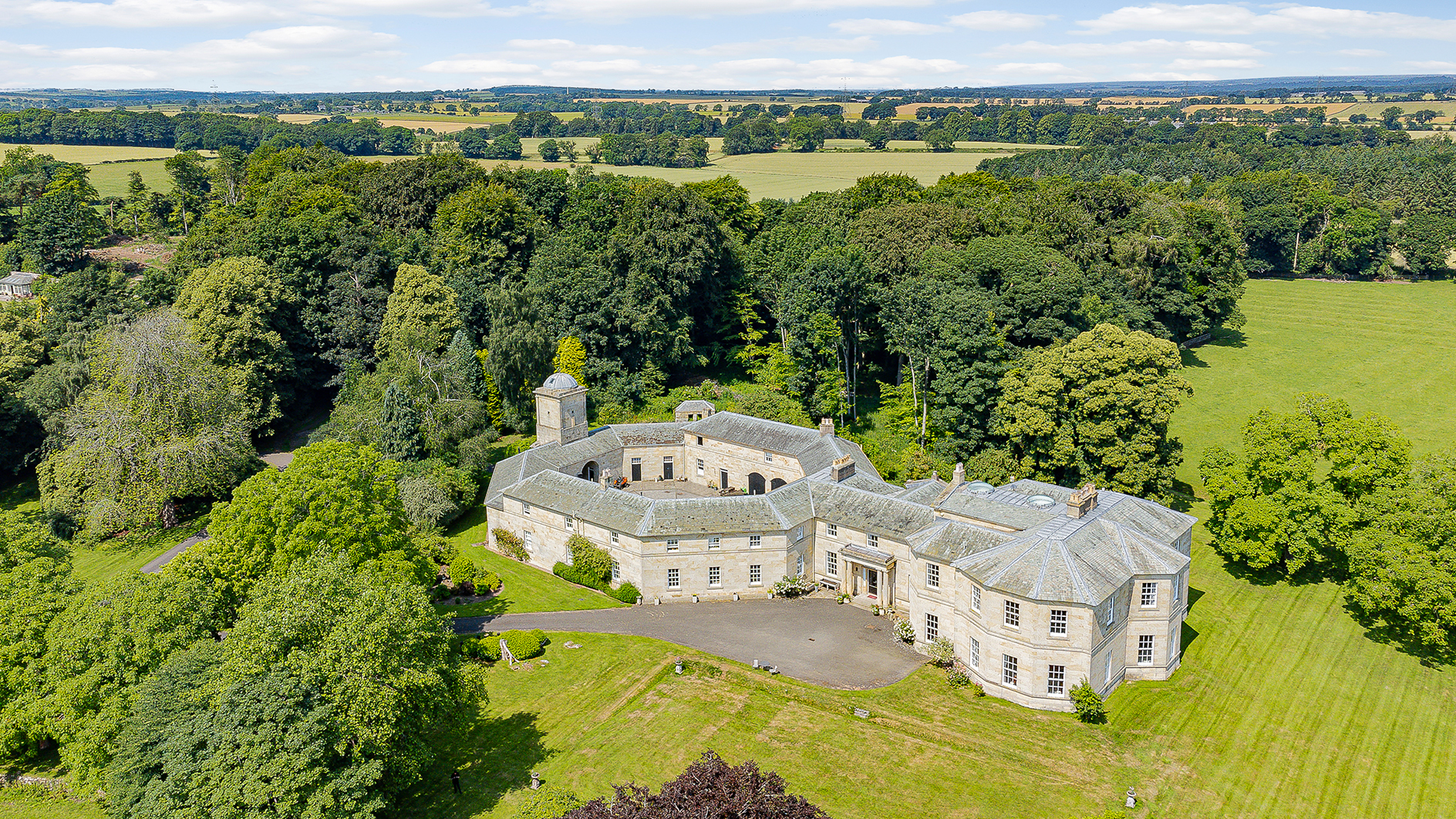 A hidden gem that's one of the prettiest country houses in Northumberland, set in 24 glorious acres of woodland gardens - Country Life