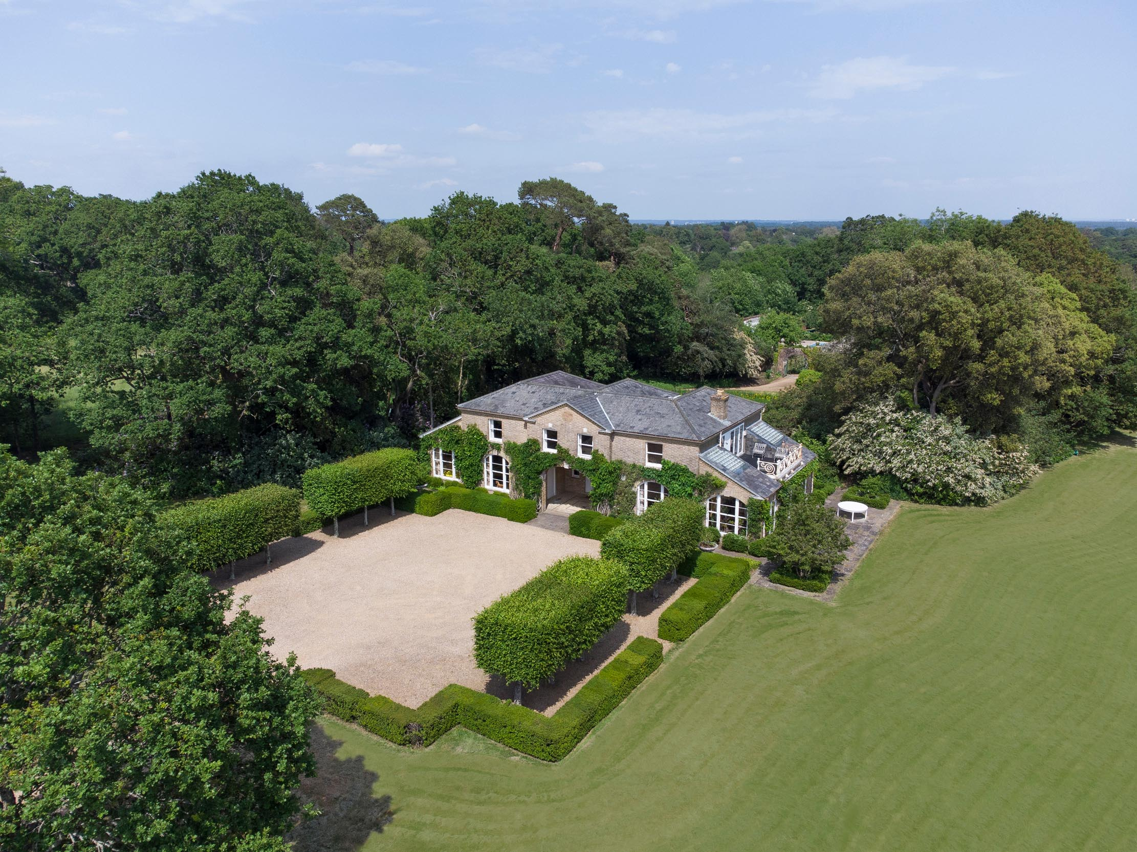 A glorious, rolling Hampshire estate with grounds designed by Capability Brown, on the market for the first time in three-quarters of a century - Country Life
