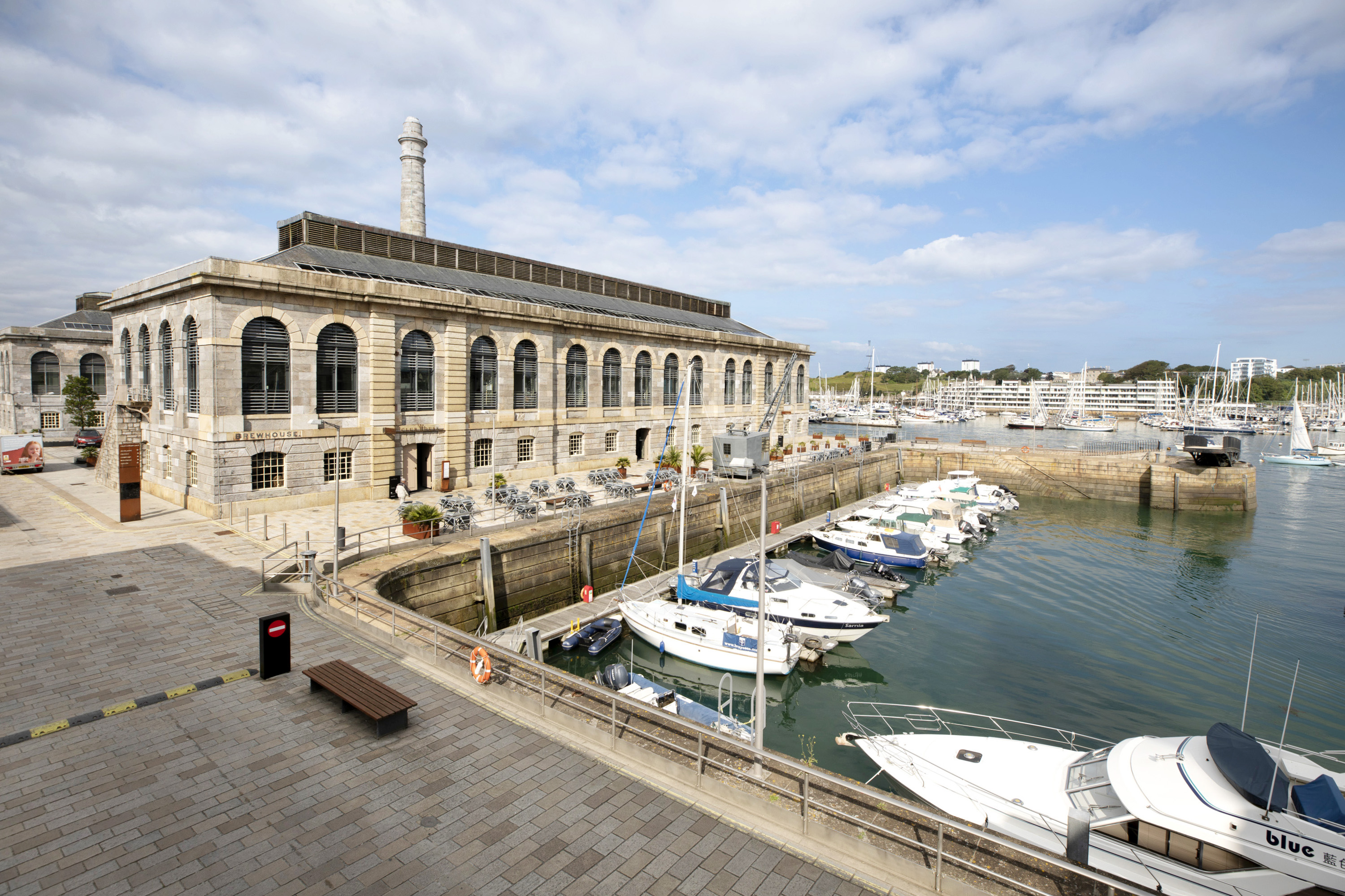 A Grade I-listed waterfront apartment in Devon's Royal William Yard with unbeatable views out over Plymouth Sound - Country Life