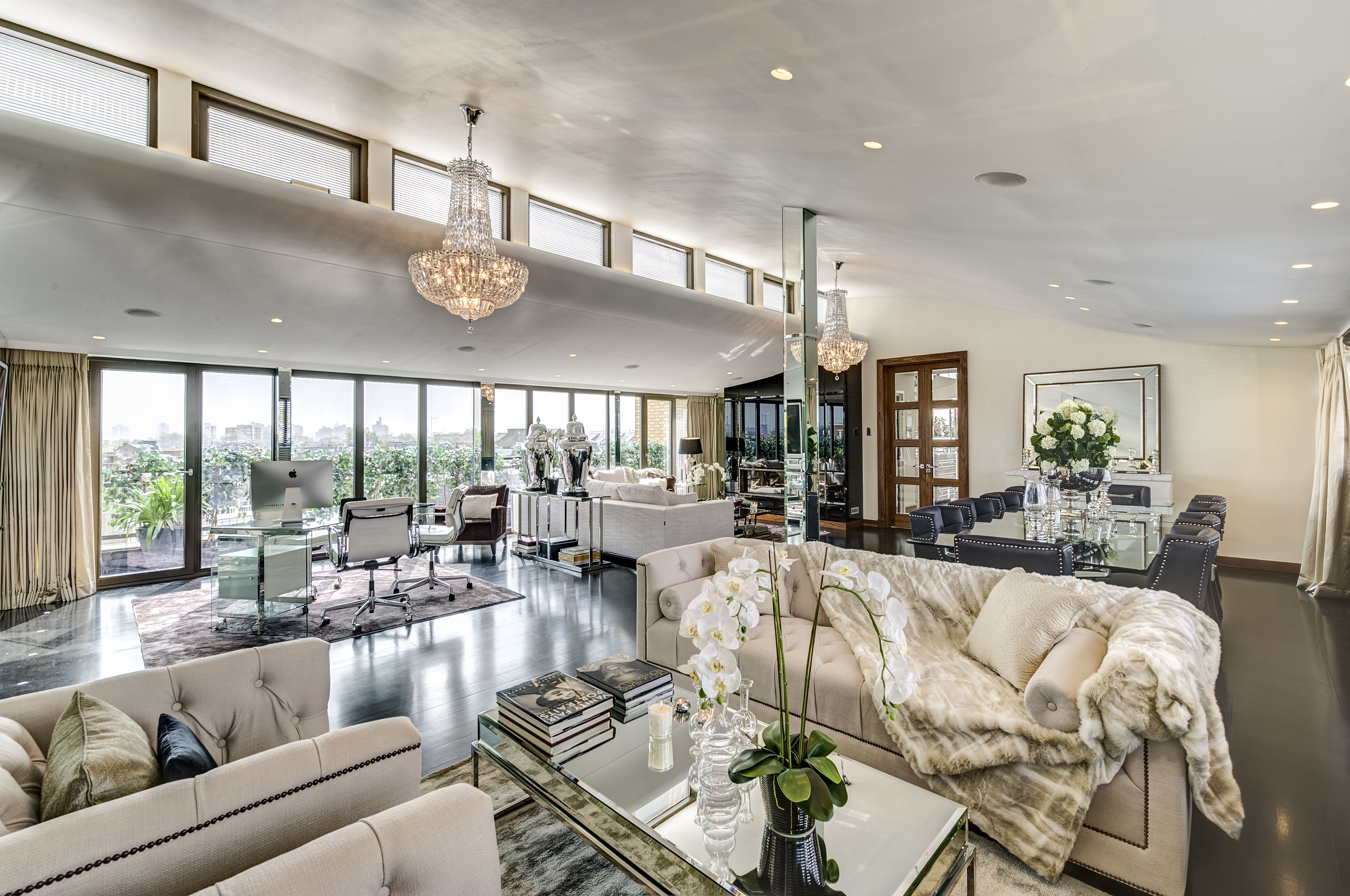 Huge Grant's former South Kensington penthouse is up for sale for £8.95 million — and you'd be hard pressed to find a more glamorous property - Country Life
