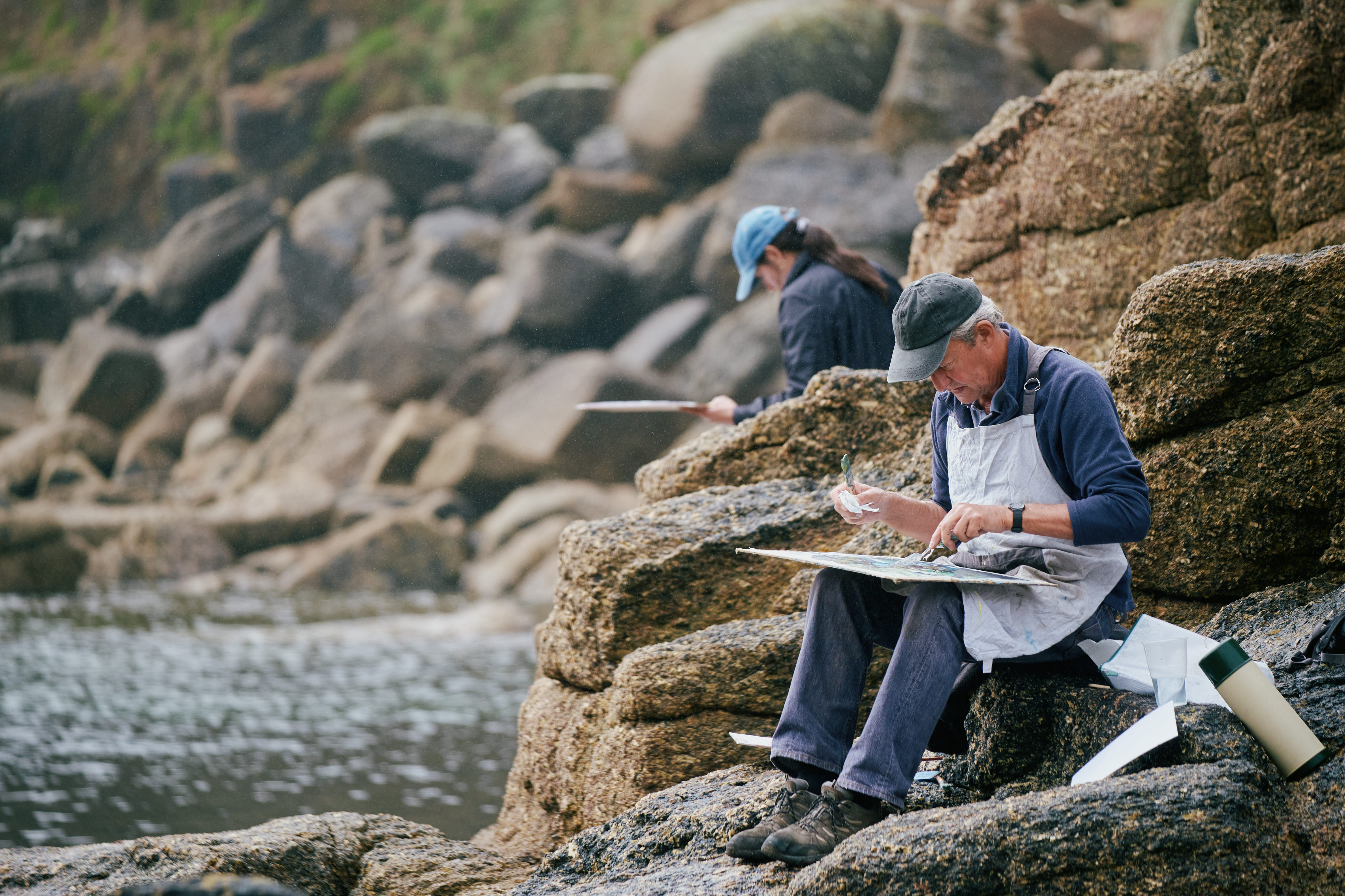 A weekend at the Newlyn School of Art: 'You'll find yourself studying breaking waves, changing colours and shifting light in a whole new way' - Country Life