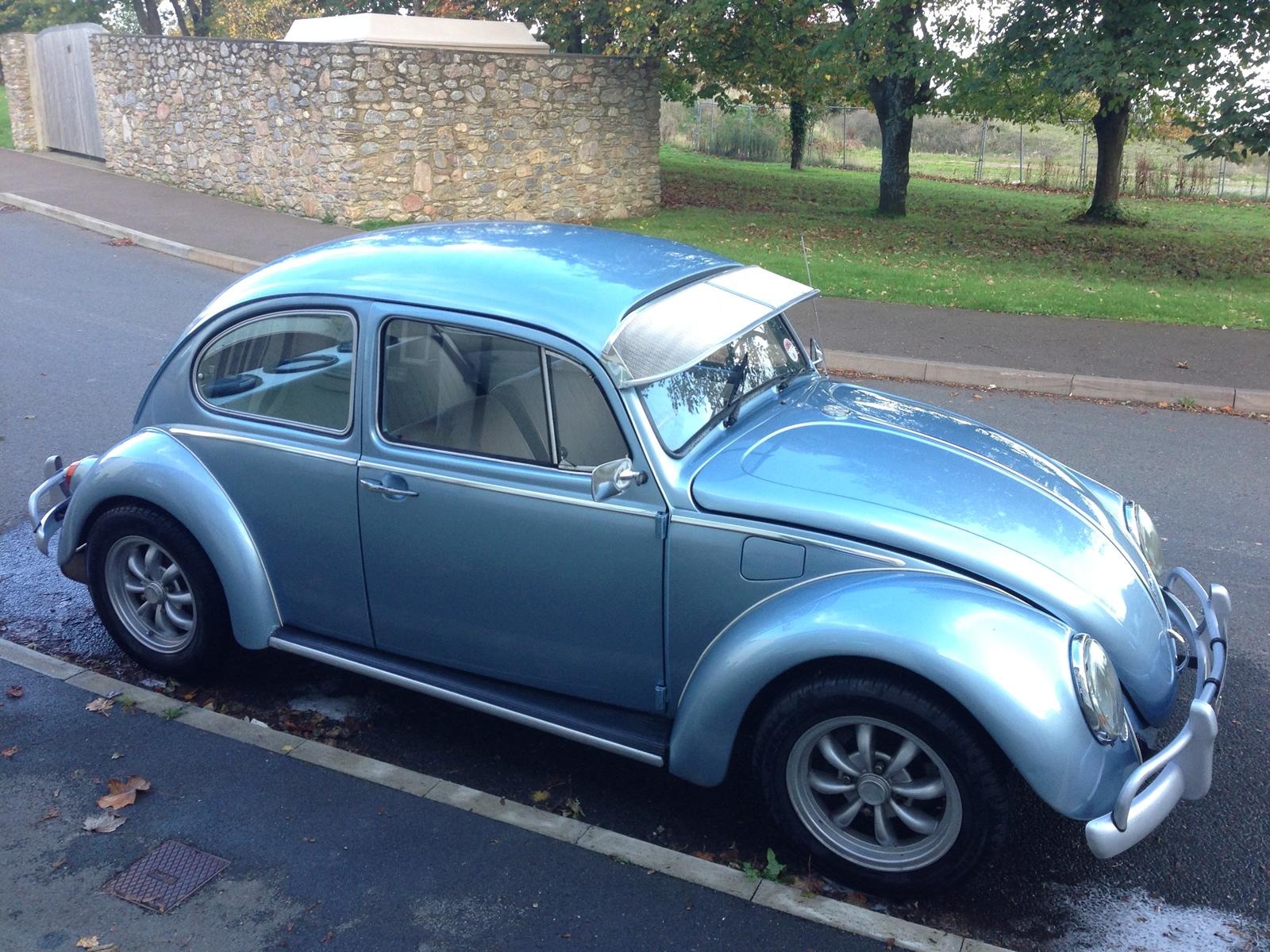 Sold Volkswagen 1600 Beetle 1969 With New Recon Engine