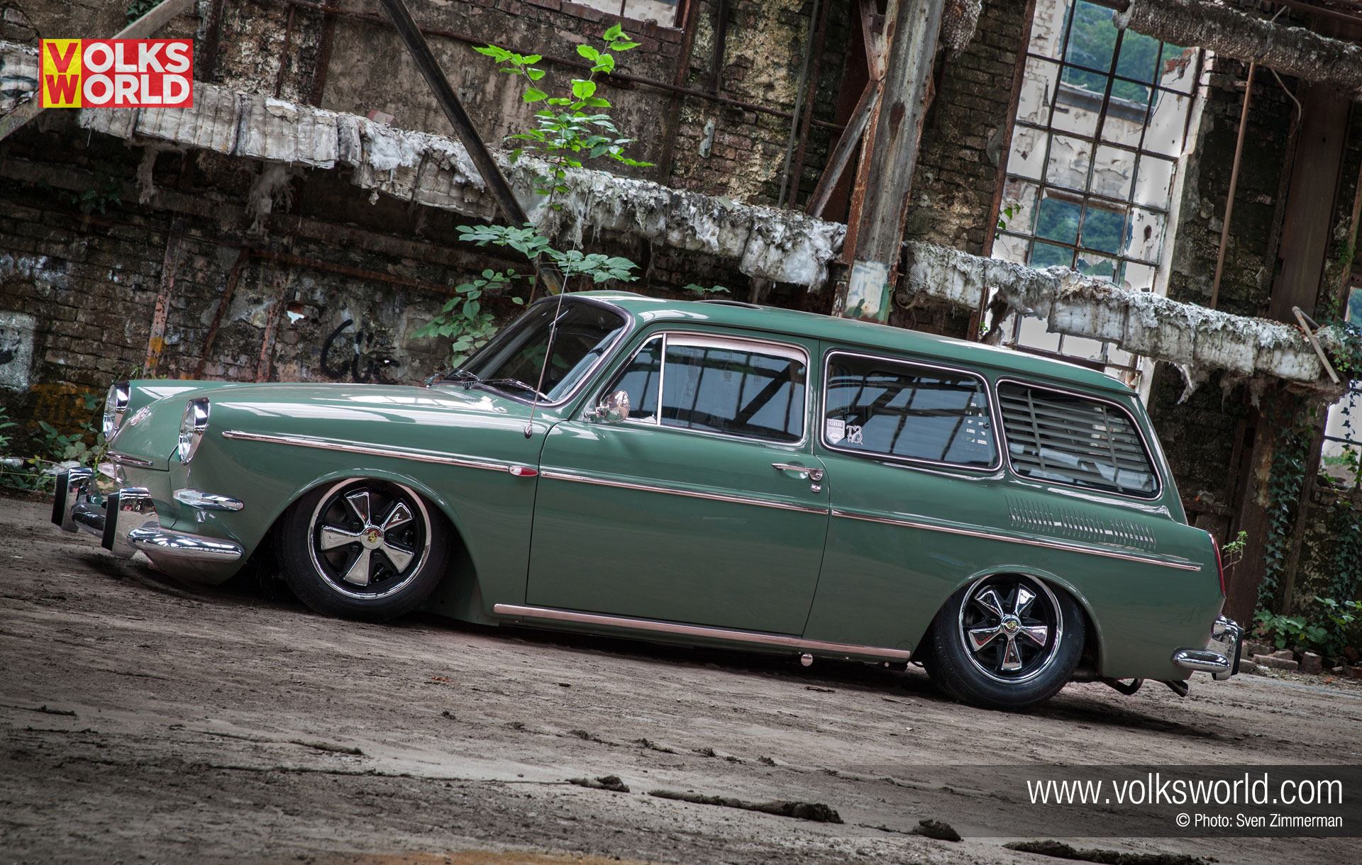 1964 vw type 3 squareback volksworld for Wallpaper sale uk