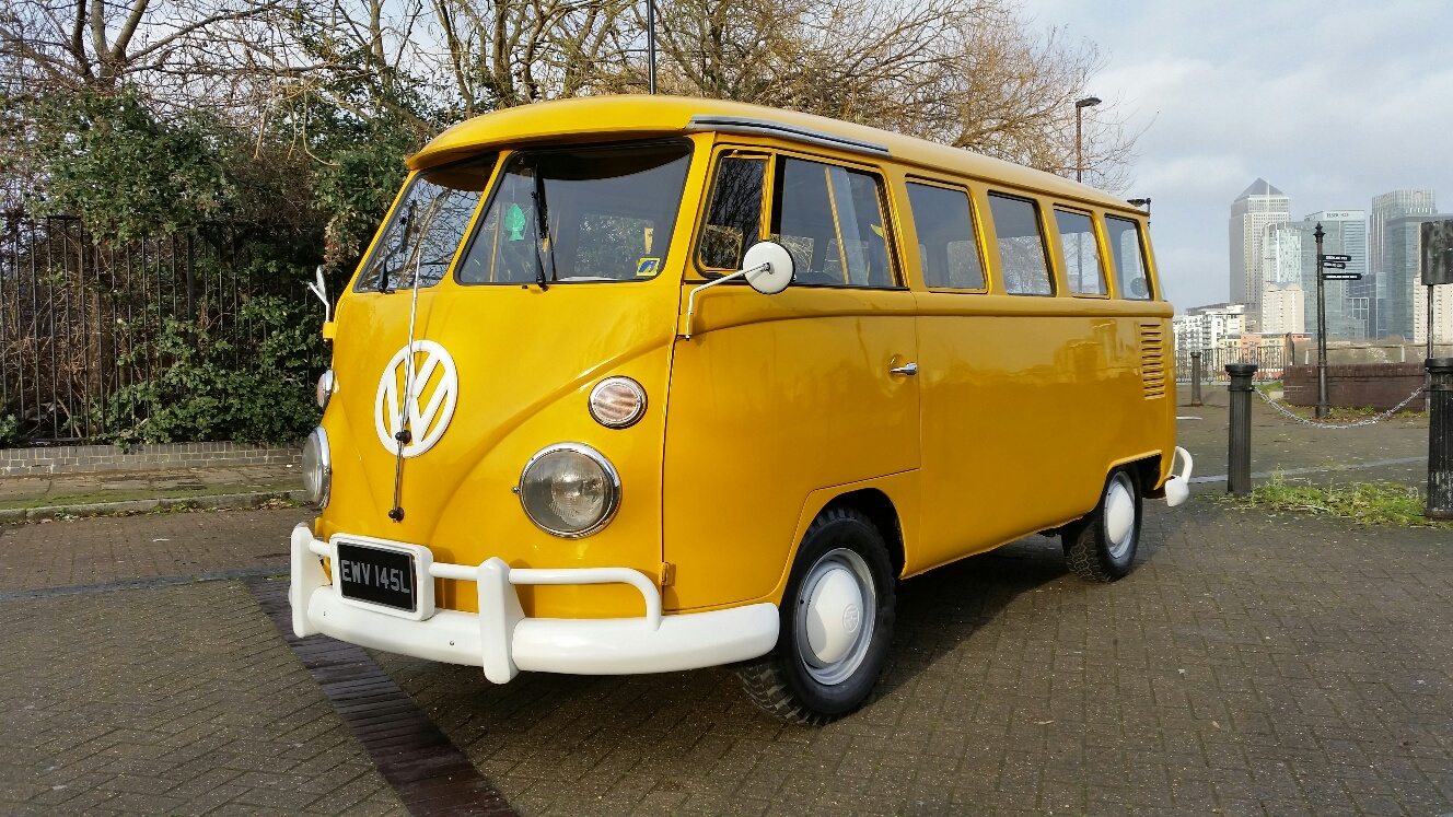 Vw splitscreen 15 windows bus t1 aircooled for sale for 14 window vw bus