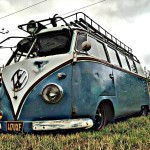 This is our 58 microbus turned camper